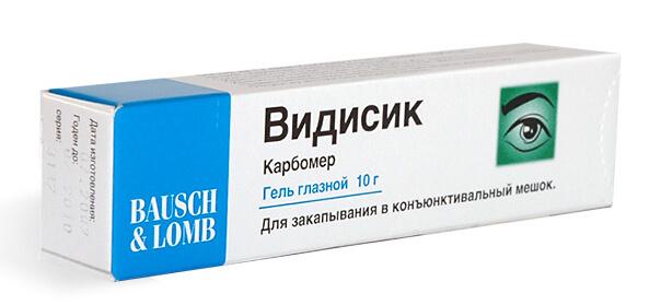 Photo of Видисик: інструкція із застосування очного гелю