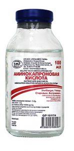 Photo of Амінокапронова кислота в ніс: способи застосування