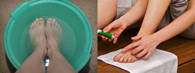 Помощь ногам в домашних условиях