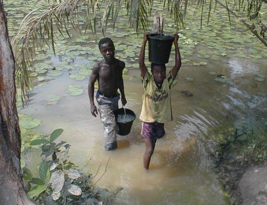 отсутствие питьевой воды – фактор развития кишечных инфекций