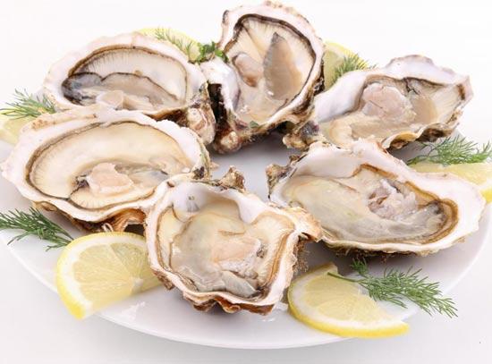 устрицы и другие моллюски с холерой