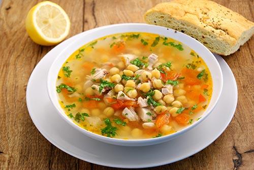 суп из нута рецепты приготовления с фото