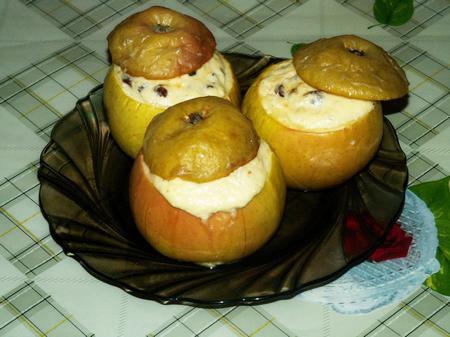 Рецепт вкусного запеченного яблока с фото