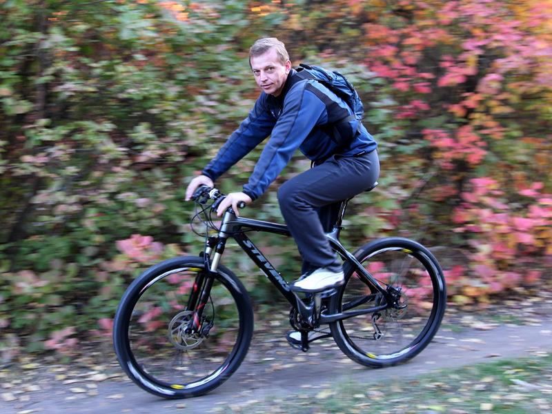 Езда на велосипеде лечит простатит